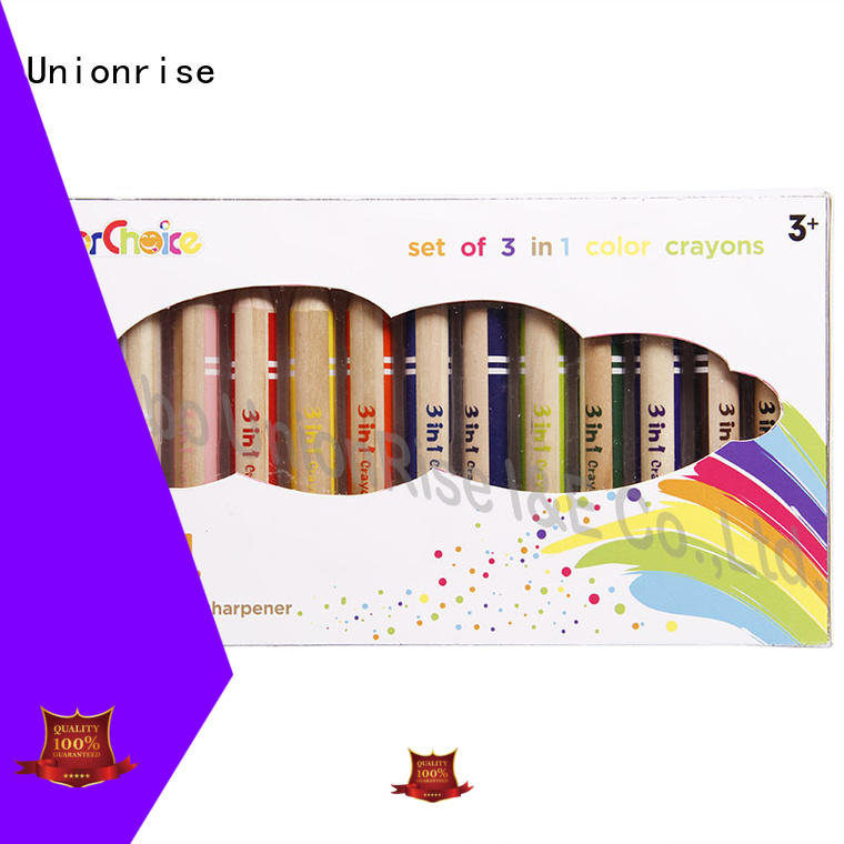 Unionrise kids crayons bulk production from top manufacturer
