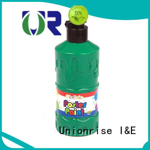 Unionrise hot-sale poster paint free sample for wholesale