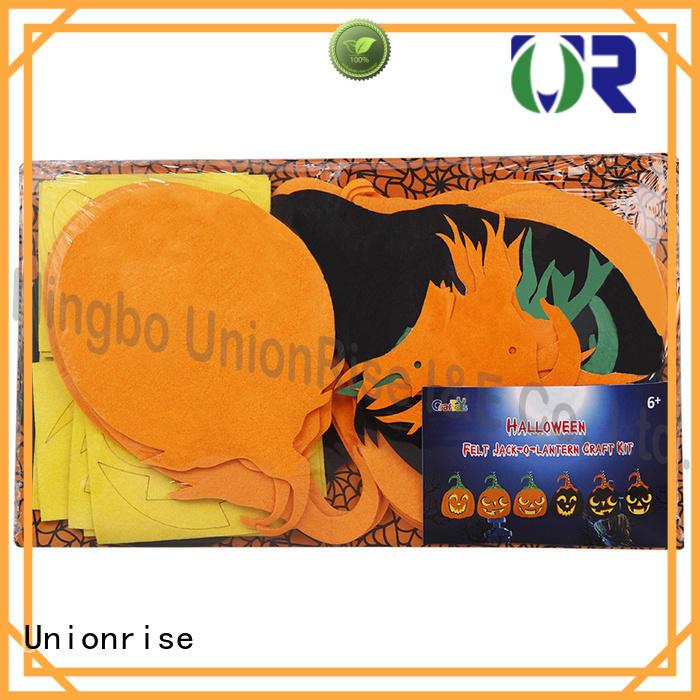 Unionrise halloween felt craft kits popular free sample