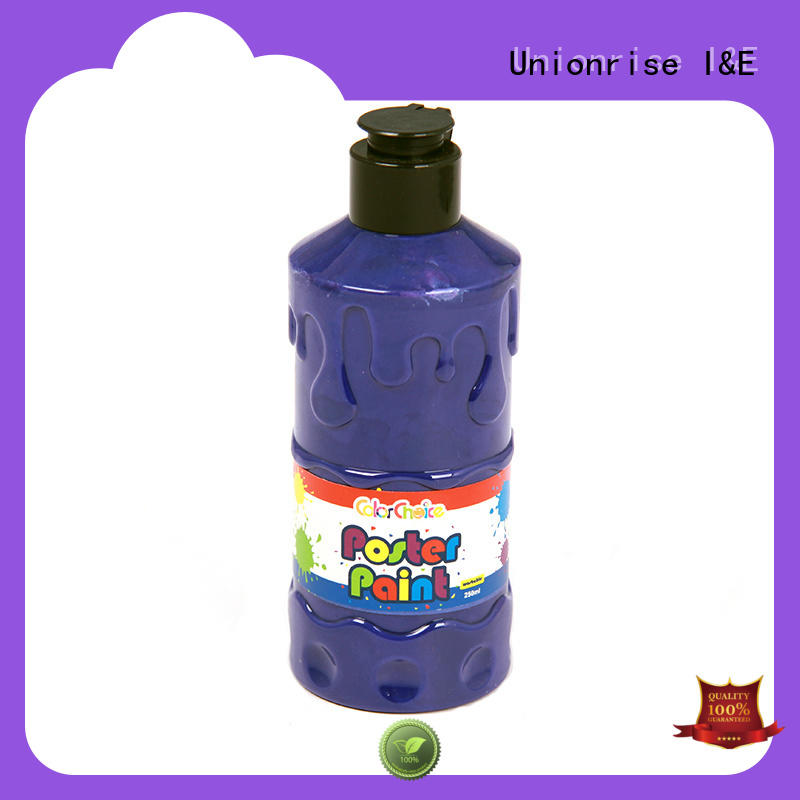 Unionrise custom washable poster paint free delivery for wholesale