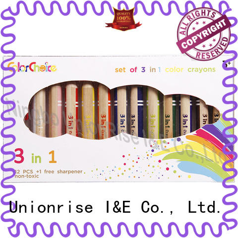 Unionrise universal kids crayons high-quality for play