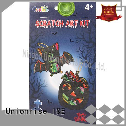 Unionrise craft scratch art kits