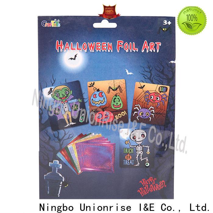 Unionrise hot-sale foil art kit Supply for kids
