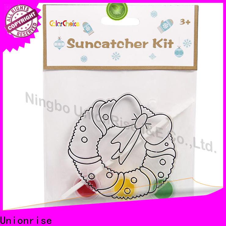 Unionrise kit suncatchers painting kit manufacturers for kids