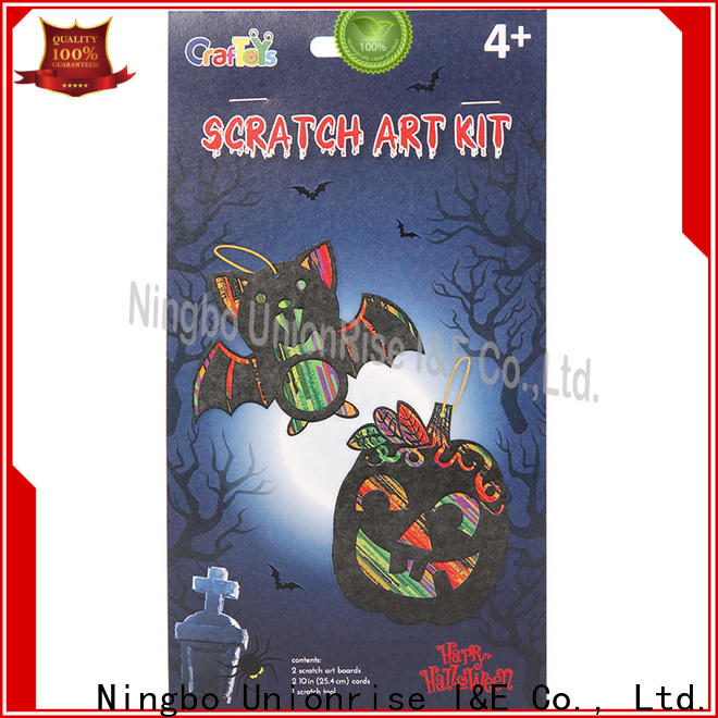 Unionrise skull scratch art set Suppliers for children