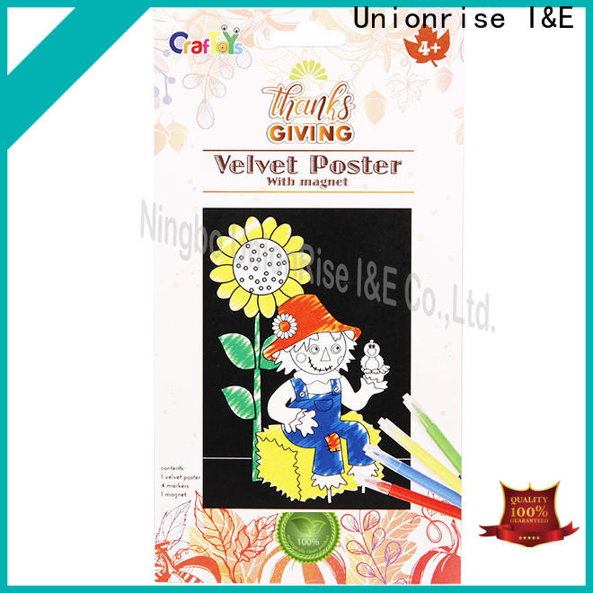 Unionrise New paper craft kits factory for children