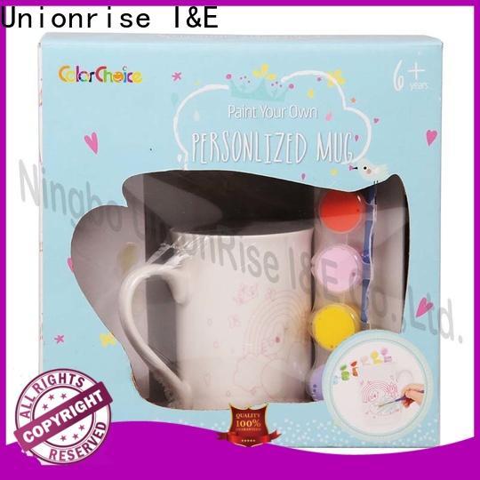 Unionrise High-quality ceramic painting kits Supply for kids