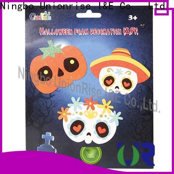 Unionrise wholesale halloween eva craft sets Suppliers for kids