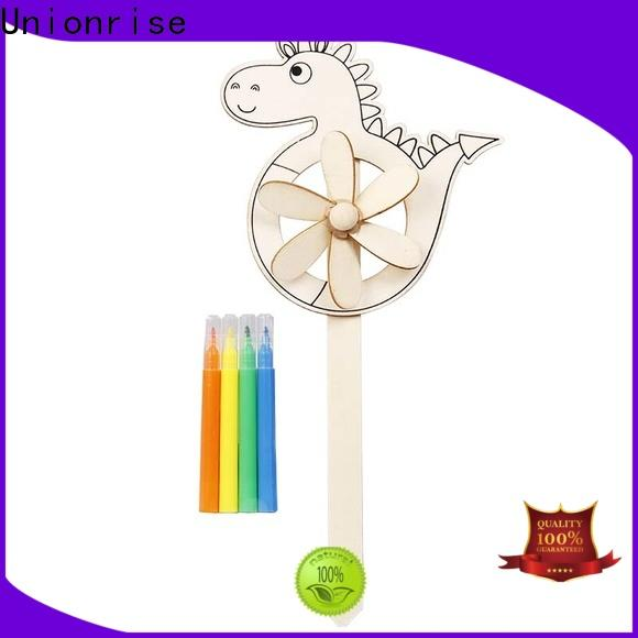 Top wooden art kit shapes company for children