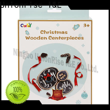 Unionrise wooden wooden craft sets Supply for kids