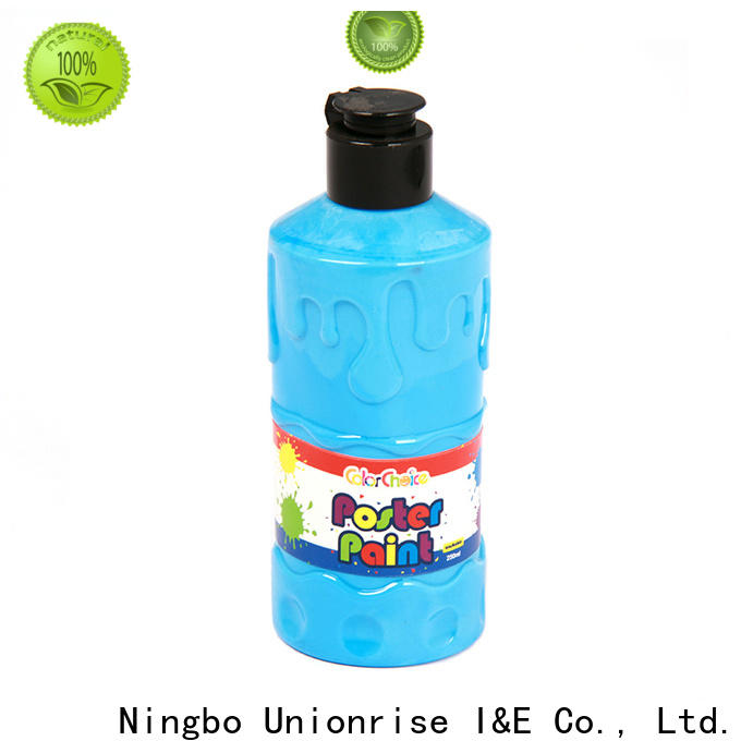 Unionrise high-quality childrens poster paint factory for children