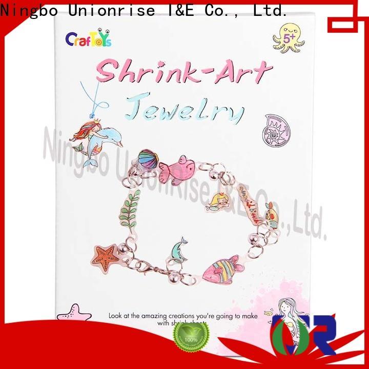 Unionrise key shrink art kits for business for children