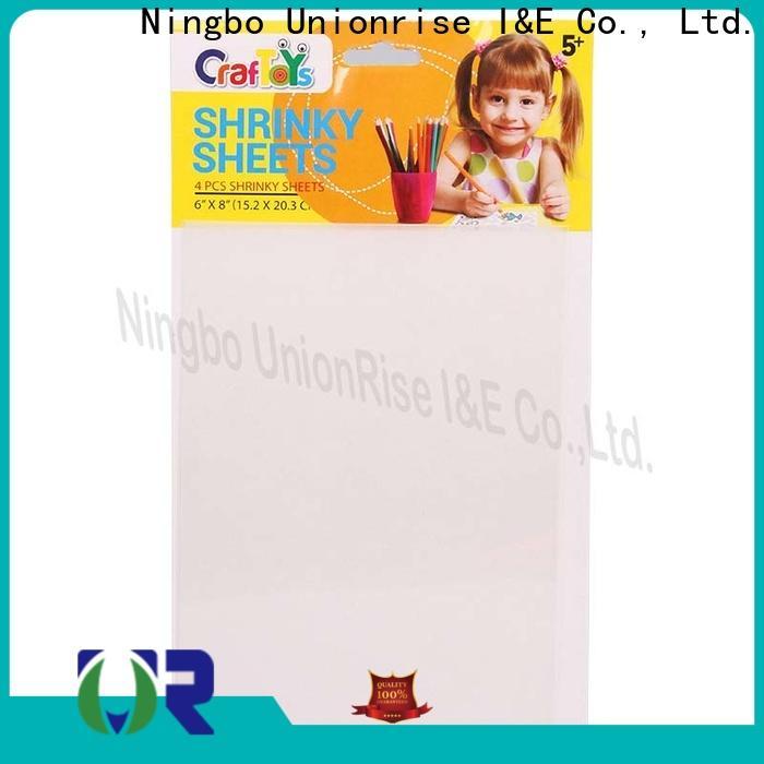 Unionrise Custom shrink art kit manufacturers for kids