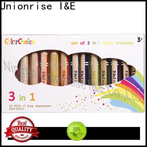 Unionrise popular children's crayons company for kids