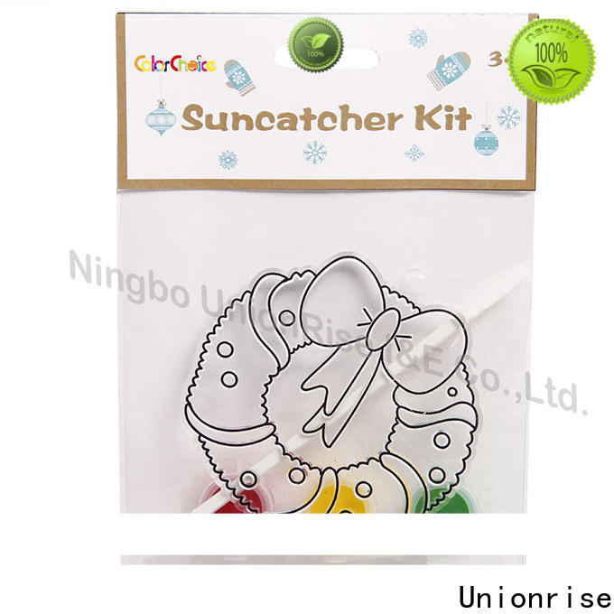 High-quality suncatchers painting kit activity company for children