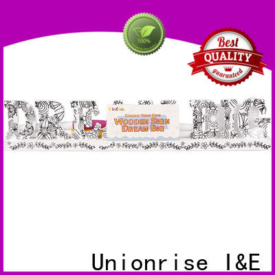 Unionrise own paint for wood crafts Supply for children