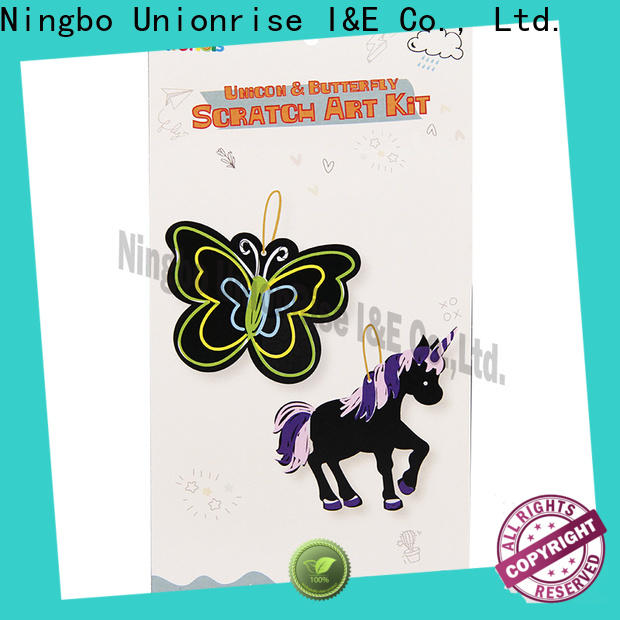 Unionrise New scratch art craft for business for kids