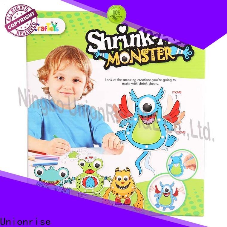 Unionrise Latest shrink craft kits manufacturers for children