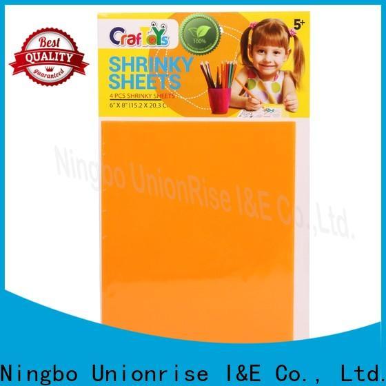 Unionrise Wholesale shrink art kit company for children