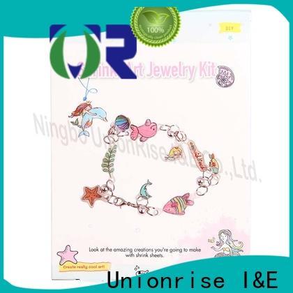 Unionrise badges shrink craft kits factory for children