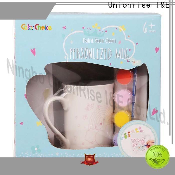 Unionrise Best ceramic paint sets for business for kids