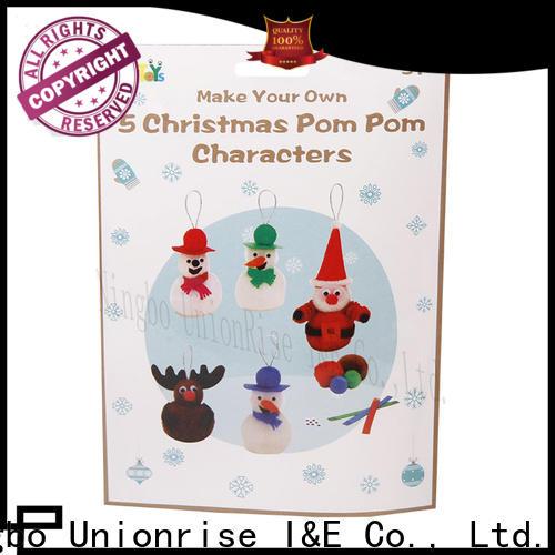 Unionrise New christmas craft sets company for children