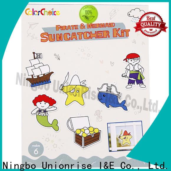 Unionrise New suncatcher kit factory for children